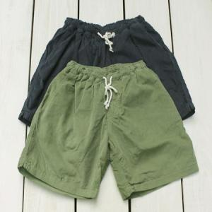 Mollusk Corduroy Shorts short pants M.Green Navy / モラスク モルスク コーデュロイ ショーツ ショートパンツ グリーン ネイビー クラシック 無地 洗い|beardstore