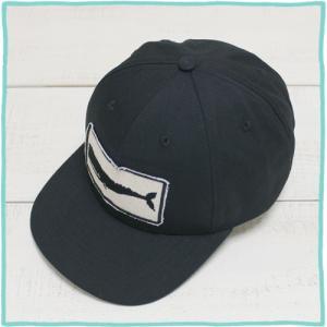 Mollusk Whale Patch Cap Black baseball cap / モラスク ホエール パッチ キャップ ブラック 黒 ベースボールキャップ モルスク|beardstore