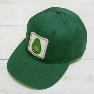 Mollusk Avocado Patch Cap Green baseball cap / モラスク アボカド パッチ キャップ グリーン ベースボールキャップ モルスク|beardstore