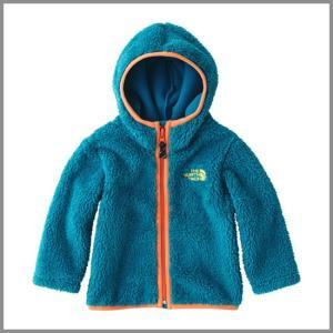 The North Face Baby Fleece Hoodie BI Brilliant Blue / ザ ノースフェイス ベビーフリースフーディー ブリリアントブルー フード ジャケット|beardstore