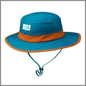 The North Face Kids Horizon Hat BI Brilliant Blue / ザ ノースフェイス キッズ ホライズン ハット / 帽子 ひも付 UVケア ブリリアントブルー|beardstore