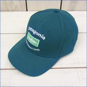 Ptagonia Roger That Hat / Cap/ Cap BG /パタゴニア オーガニック コットン キャップ / トラッカー ブルーグリーン beardstore