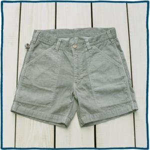 Sunlight Believer 70s Corduroy Short Pants Ash Pigment / サンライトビリーバー コーデュロイ ショーツ アッシュ グレー 製品染め|beardstore