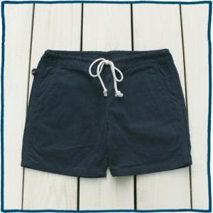 Sunlight Believer 70s Corduroy Relax Short Pants Shorts Navy Overdye / サンライトビリーバー コーデュロイ リラックス ショーツ ネイビー 紺 製品染め|beardstore