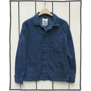 V.D.L.C Cotton Denim Work Jacket Denim vdlc / ブイディーエルシー コットン デニム ワーク ジャケット デニム 洗い|beardstore
