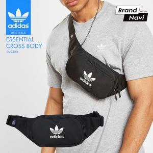 アディダス adidas メンズ レディース 2WAY ウエストバッグ ボディバッグ メッセンジャーバッグ DV2400 貴重品 バッグ ポーチ サコッシュ*|bearfoot-shoes