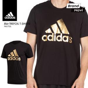 【サイズ交換1回無料】adidas アディダス メンズ 半袖 Tシャツ オリジナルス スポーツ ブラック メタリック ゴールド FN1735*|bearfoot-shoes