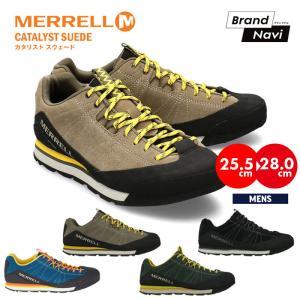 【サイズ交換1回無料】メレル スニーカー メンズ シューズ MERRELL カタリスト スウェード CATALYST SUEDE クライミング アウトドア トレッキング 靴 bearfoot-shoes