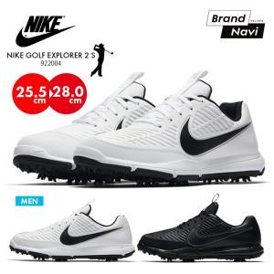 NIKE EXPLORER 2 S 922004 ナイキ メンズ ゴルフシューズ エクスプローラー2 スパイク スポーツ 紳士 靴 スニーカー|bearfoot-shoes