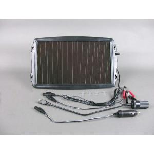 ソーラー充電器 チャージャー2.4w バッテリー 発電機 曇りOK bearidgeshop