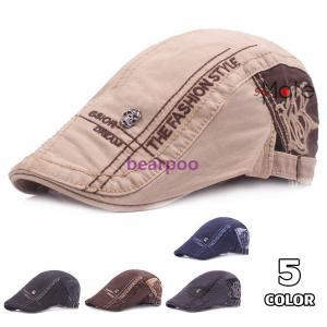 40代 50代 メンズ帽子 ハンチング ハット キャップ 防寒 キャスケット ハンチング帽子 サイズ...