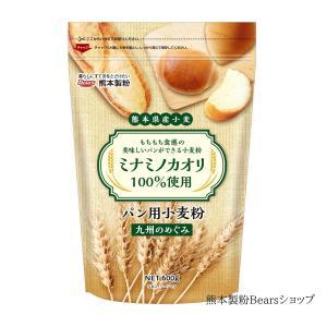 熊本県産パン用小麦粉 九州のめぐみ 600g 熊本製粉Bearsショップ