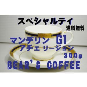 コーヒー豆マンデリン アチェ 300g スペシャルティコーヒー 人気に訳ありコーヒー 送料無料コーヒ...
