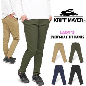 KRIFF MAYER レディース クリフメイヤー EVERY-DAYフィットパンツ 1837800...