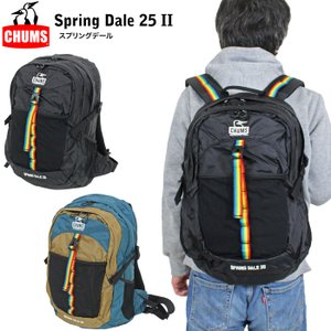 CHUMS チャムス スプリングデール 25 II リュックサック バックパック メンズ レディース...