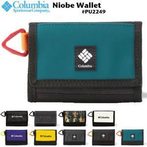 Columbia コロンビア 三つ折り 短財布 Niobe Wallet ナイオベウォレット コンパ...