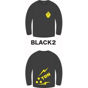 3TON(ミトン) 10/11モデルロンT/ブラック|beatnuts