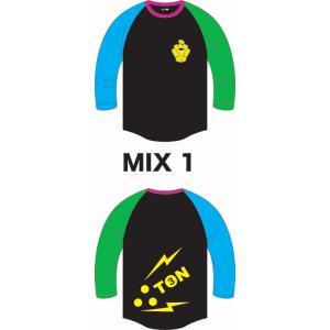 3TON(ミトン) 10/11モデル7分TEE/MIX-1|beatnuts