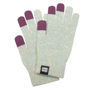 【メール便送も対応】EVOLG(エヴォルグ)/スマートフォン用手袋/SHIMA2-SHERBET[i PHONE/エクスぺリア/Android用手袋][タッチパネル用手袋]|beatnuts