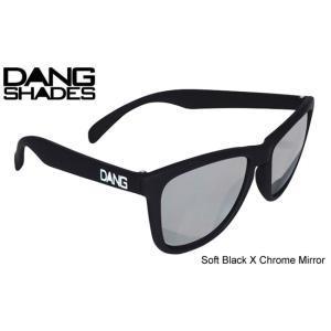 [DANG SHADES/Soft Black X Chrome Mirror] [ダンシェーズ/ソフト ブラック×クロームミラー] [正規販売店] スノーボード サングラス スノボ サーフ 3700円+税|beatnuts