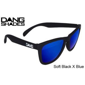 DANG SHADES/Soft Black X Blue Mirror ダンシェーズ/ソフト ブラック×ブルーミラー [正規販売店]  スノーボード, サングラス, スノボ, サーフ, 3700円+税|beatnuts
