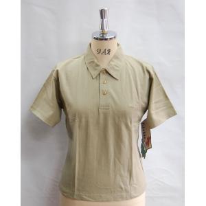 ポロシャツ レディース WEASTBEACH GIRLIE ポロシャツ半袖 ベージュ 3800円+税|beatnuts