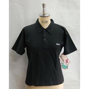 ポロシャツ レディース WEASTBEACH GIRLIE ポロシャツ半袖 ブラック 3800円+税|beatnuts