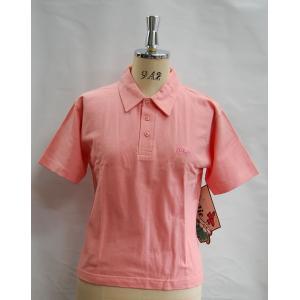 ポロシャツ レディース WEASTBEACH GIRLIE ポロシャツ半袖 ピンク 3800円+税|beatnuts
