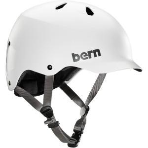 バーン BERN WATTS Satin Whit オールシーズンタイプ ヘルメット 正規販売店 ジャパンフィット スノーボード, スキー, スケート, 自転車【wsp10x】|beatnuts