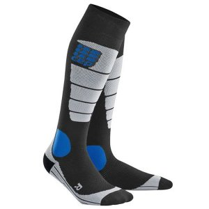 シーイーピー CEP SNOWBOARD SOCKS BLACK/GRAY 正規販売店 スノーボード用ソックス 靴下 メンズ|beatnuts