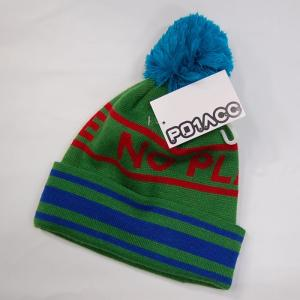 P01(プレイ) ボンボンビーニー グリーン ニット帽 正規販売店|beatnuts