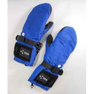 3TON ミトン SUPER 3TON PART2 3TON-06G03 BLUE Mサイズ 9000円+税 スノーグローブ|beatnuts