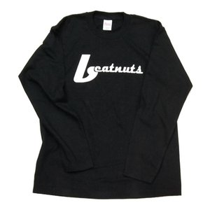 BEATNUTS LOGO TEE BLACK ロンTシャツ 3800円|beatnuts
