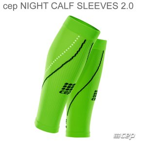 cep MENS Night Calf Sleeves 2.0 flash green/black シーイーピー ナイトカフスリーブ メンズ|beatnuts