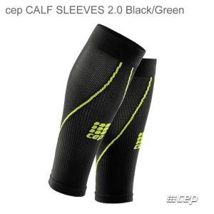 cep MENS Calf Sleeves 2.0 black/green シーイーピー カフスリーブ メンズ|beatnuts