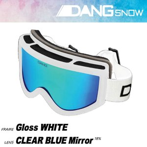 DANG SHADES DANG SNOW 17-18 GLOSS WHITE 正規販売店 ゴーグル スノー|beatnuts