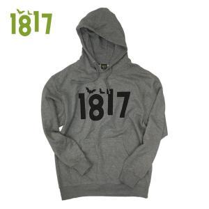 1817 16-17 OG LOGO HOODIE GRAY ワンエイティーンセブンティーン パーカー フード 正規販売店|beatnuts