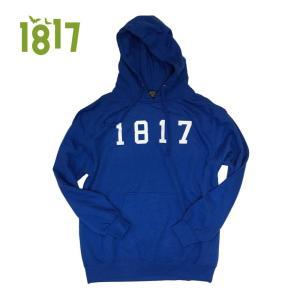 1817 16-17 DROPOUT HOODIE BLUE ワンエイティーンセブンティーン パーカー フード 正規販売店|beatnuts