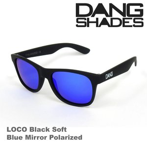 DANG SHADES ダンシェーズ LOCO Black Soft X Blue Mirror Polarized vidg00240 偏光レンズ UVカット 正規販売店 5000円+税 05P23Apr16|beatnuts