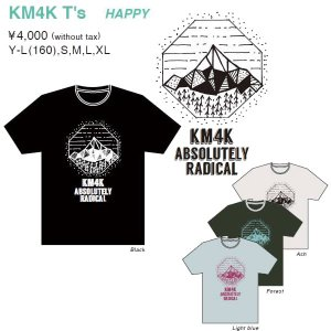 KM4K T'S HAPPY カモシカ Tシャツ 4000円+税|beatnuts