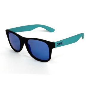 DANG SHADES ダンシェーズ LOCO Black Soft /Light Olive x Blue Mirror vidg00247 正規販売店 UVカットスノーボード サングラス スノボ サーフ UVカット|beatnuts