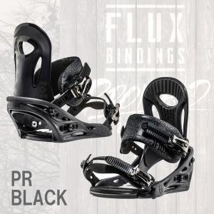 16-17 FLUX BINDINGS PR BLACK フラックス バインディング スノーボード ビンディング 正規販売店|beatnuts