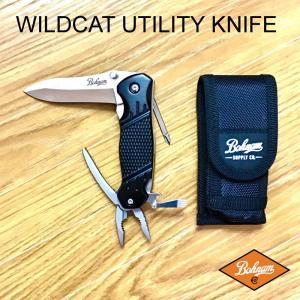BOHNAM WILDCAT UTILITY KNIFE ボーナム ワイルドキャット ユーティリティー ナイフ キャンプ アウトドア 売れ筋|beatnuts