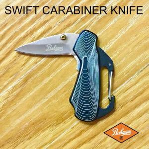 BOHNAM SWIFT CARABINER KNIFE ボーナム スイフトカラビナナイフ キャンプ アウトドア|beatnuts