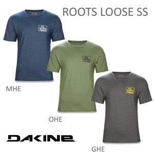 DAKINE メンズ ラッシュガード ROOTS LOOSE SS UV対策 日焼け対策 水着 スイムウェア マリンスポーツ ウォータースポーツ|beatnuts