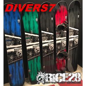 17-18 RICE28 DIVERS7 ライス28 ディバースセブン グラトリ メンズ 板 スノーボード プレチューン&セラミックディスクエッジ加工無料|beatnuts