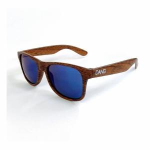 DANG SHADES ダンシェーズ LOCO Wood Matte X Blue Mirror vidg00338 正規販売店 UVカットスノーボ|beatnuts