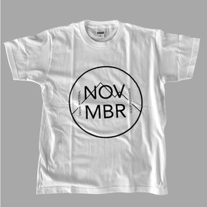 NOVEMBER SNOWBOARDS T-MARK/WT ノベンバー スノーボード Tシャツ|beatnuts