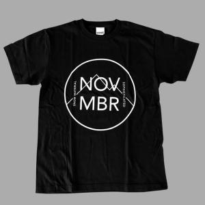 NOVEMBER SNOWBOARDS T-MARK/BK ノベンバー スノーボード Tシャツ|beatnuts