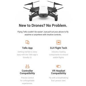 ドローン DJI TELLO トイドローン ドローン カメラ付き 小型 航空法対象外 Ryze Tech Intel|beatnuts|05